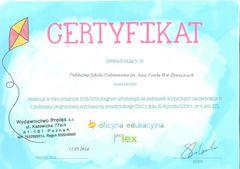 Galeria Certyfikaty