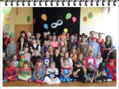 Galeria Bal maskowy w PSP Żywocice 2014r.